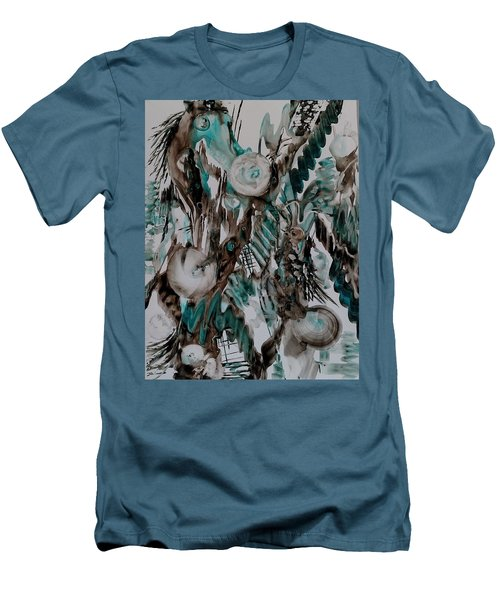 Carousel Horse Men's T-Shirt (Athletic Fit)