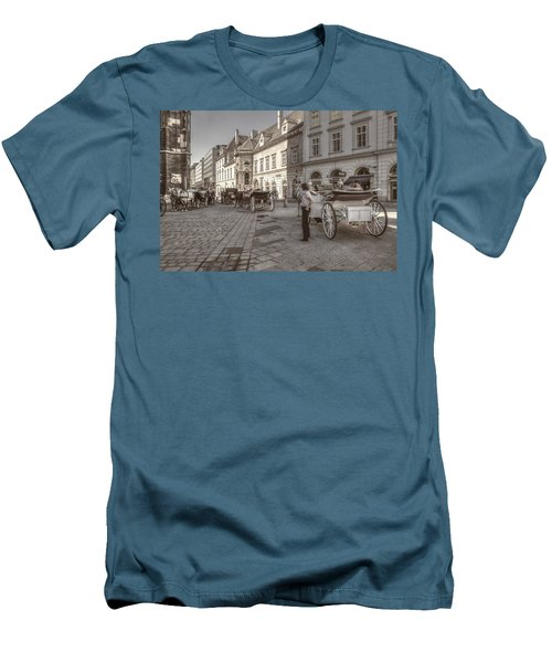 Carriages Back To Stephanplatz Men's T-Shirt (Athletic Fit)