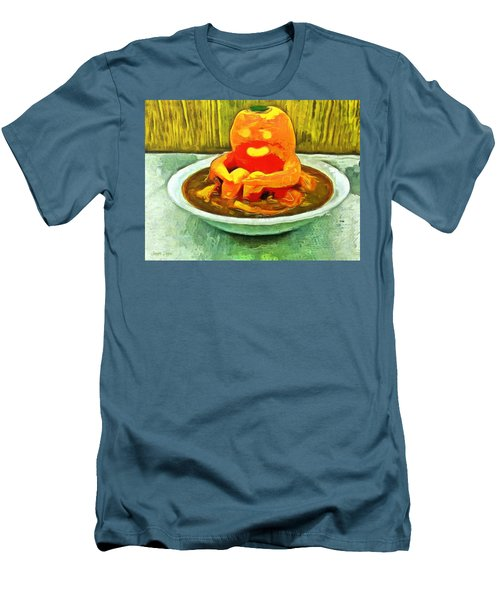 Carrot Bath Time - Da Men's T-Shirt (Athletic Fit)