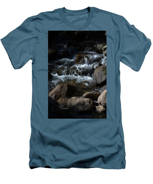 Men's T-Shirt (Slim Fit) featuring the photograph Carson River by Lynn Bawden