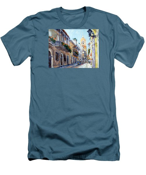 Cartagena Colombia Men's T-Shirt (Athletic Fit)