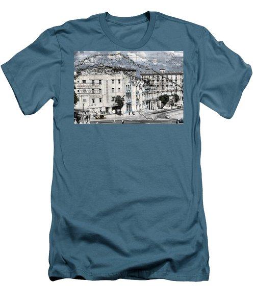 Carte Isle De Cuba Men's T-Shirt (Athletic Fit)