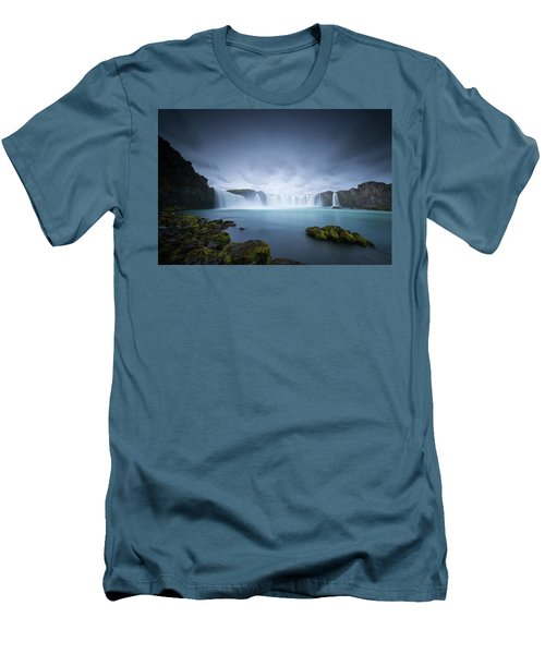 Cascade Of The Gods Men's T-Shirt (Athletic Fit)