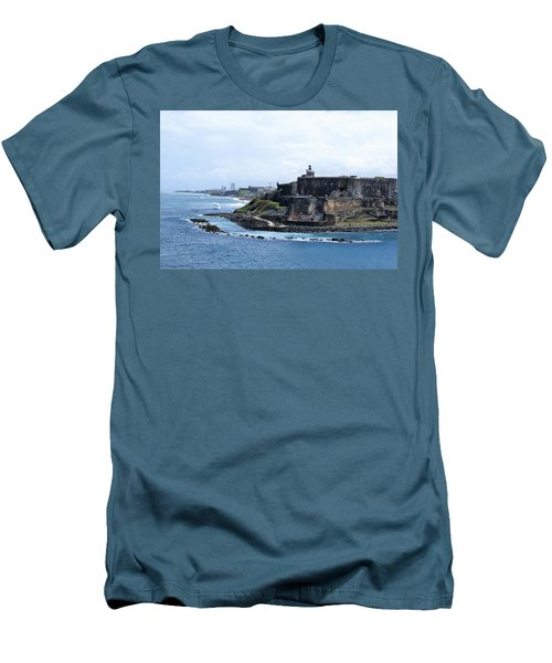 Castillo San Felipe Del Morro Men's T-Shirt (Athletic Fit)