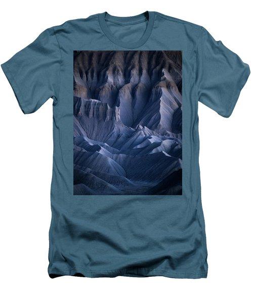 Men's T-Shirt (Athletic Fit) featuring the photograph Castle Blue by Dustin LeFevre