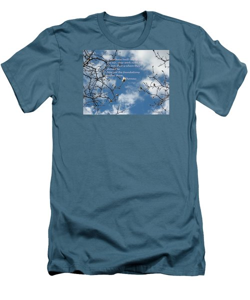 Castles In The Air Men's T-Shirt (Slim Fit) by Deborah Dendler