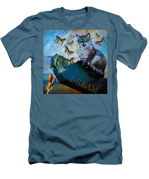 Catch A Dream Men's T-Shirt (Slim Fit)