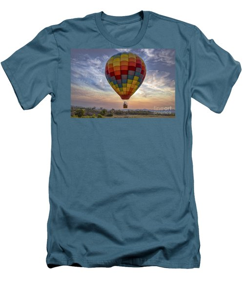 Men's T-Shirt (Slim Fit) featuring the photograph Catch The Breeze by Mitch Shindelbower