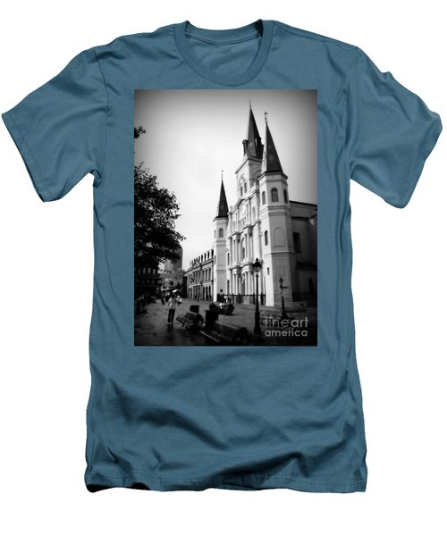 Cathedral Morning 2 Men's T-Shirt (Athletic Fit)