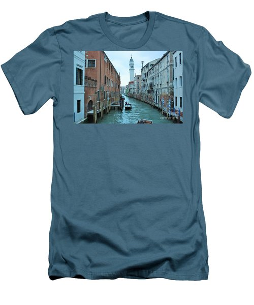 Cathedral Of San Giorgio Dei Greci Men's T-Shirt (Athletic Fit)