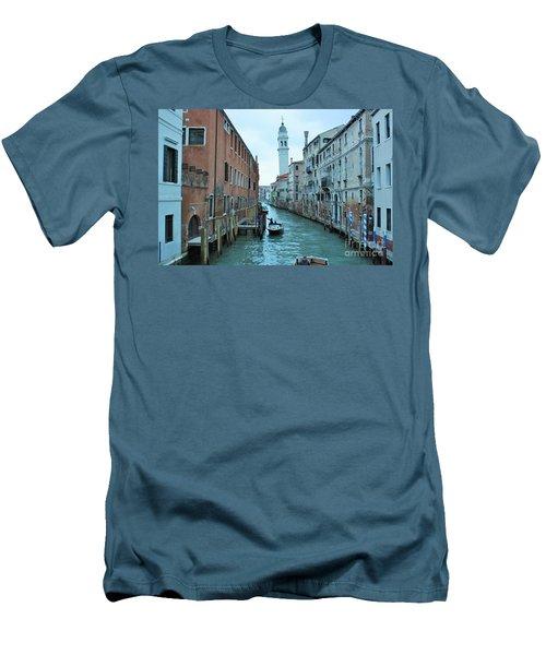 Cathedral Of San Giorgio Dei Greci Men's T-Shirt (Athletic Fit)