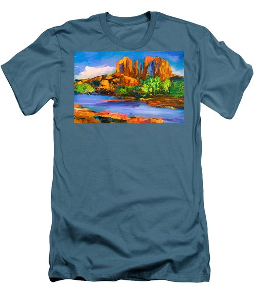 Cathedral Rock Afternoon Men's T-Shirt (Athletic Fit)