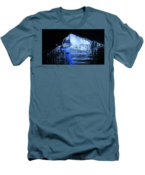 Men's T-Shirt (Athletic Fit) featuring the photograph Cave Dwellers by Sean Sarsfield