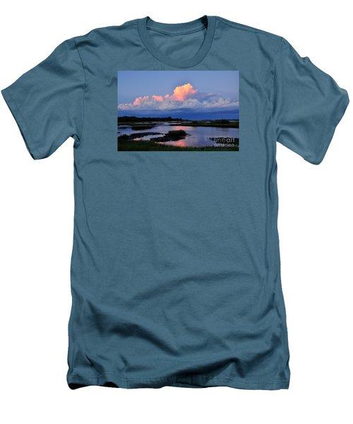 Cedar Key Sunset Men's T-Shirt (Athletic Fit)
