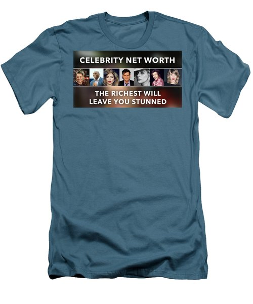 Celebrity Net Worth Totals That Will Blow Mind Men's T-Shirt (Athletic Fit)