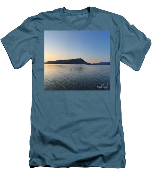 Celista Sunrise 2 Men's T-Shirt (Slim Fit) by Victor K
