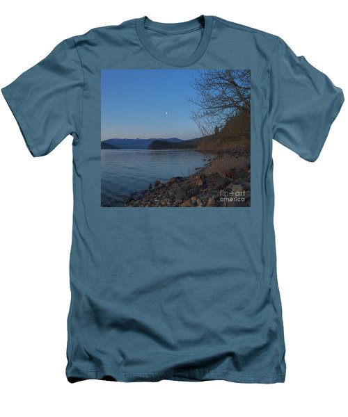 Celista Sunrise 3 Men's T-Shirt (Slim Fit) by Victor K