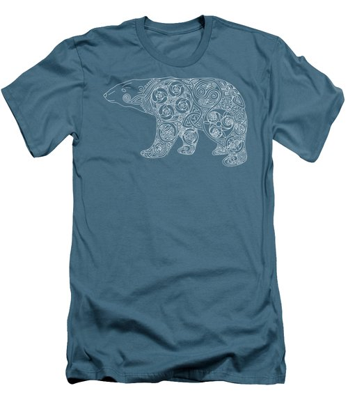Celtic Polar Bear Men's T-Shirt (Athletic Fit)
