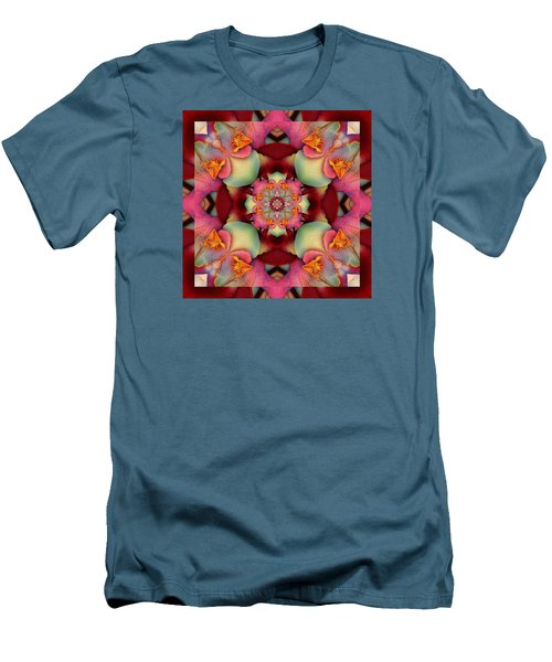 Men's T-Shirt (Slim Fit) featuring the photograph Centerpeace by Bell And Todd