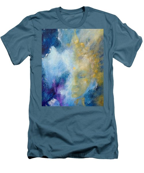 Chakra Men's T-Shirt (Slim Fit) by Dina Dargo