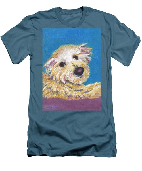 Men's T-Shirt (Athletic Fit) featuring the painting Chance by Jamie Frier