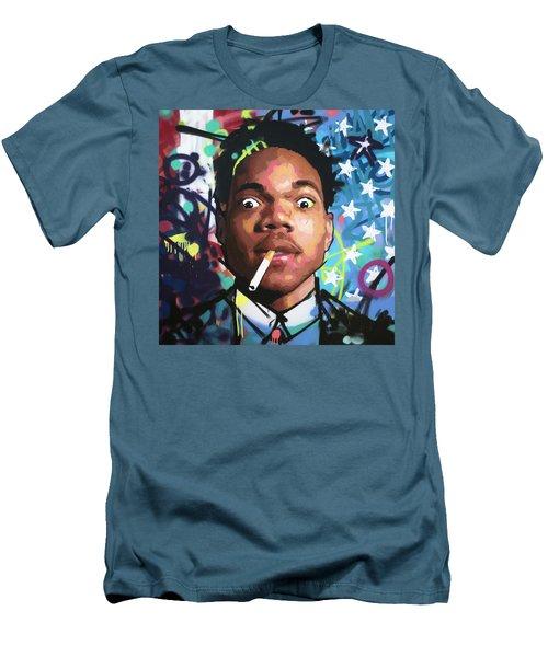 Chance The Rapper Men's T-Shirt (Athletic Fit)