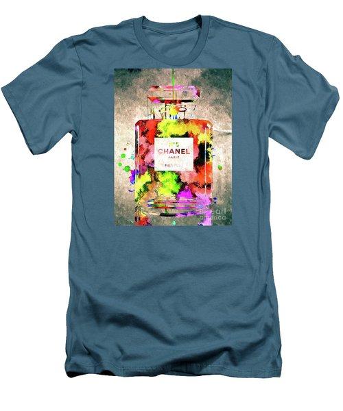 Chanel No 5 Men's T-Shirt (Slim Fit)