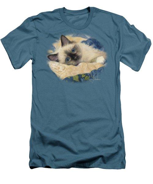 Charming Men's T-Shirt (Slim Fit) by Lucie Bilodeau