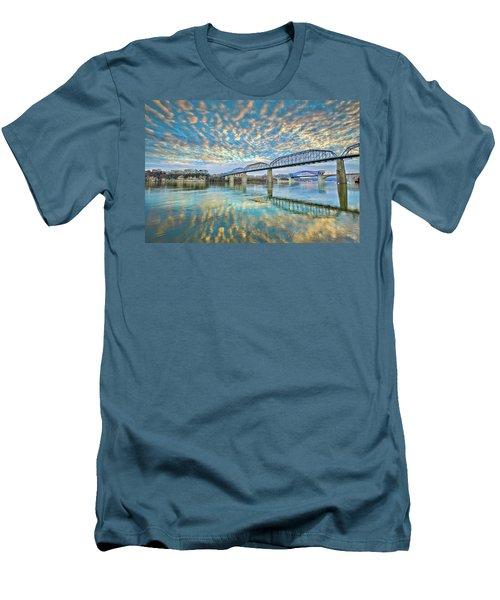 Chattanooga Has Crazy Clouds Men's T-Shirt (Slim Fit) by Steven Llorca