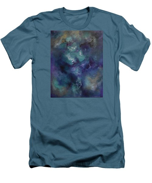 Men's T-Shirt (Slim Fit) featuring the painting Cheers by Tamara Bettencourt