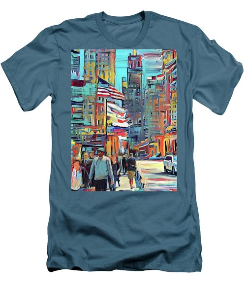 Chicago Colors 5 Men's T-Shirt (Athletic Fit)