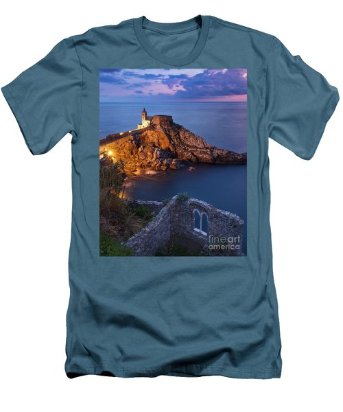 Men's T-Shirt (Slim Fit) featuring the photograph Chiesa San Pietro by Brian Jannsen