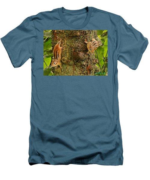Chipmunks Men's T-Shirt (Athletic Fit)