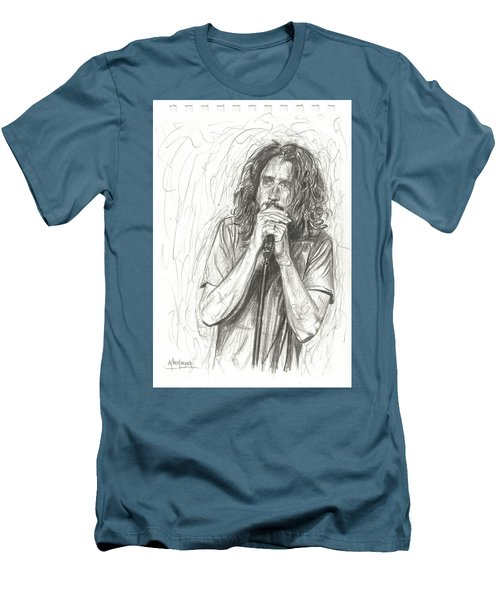 Chris Cornell Men's T-Shirt (Athletic Fit)