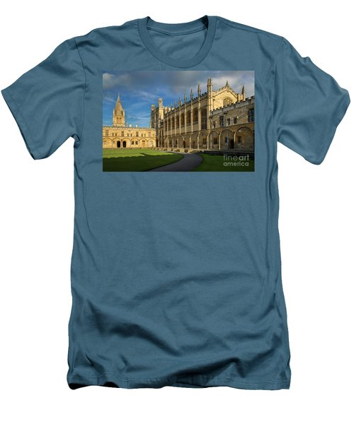 Men's T-Shirt (Slim Fit) featuring the photograph Christ Church College II by Brian Jannsen