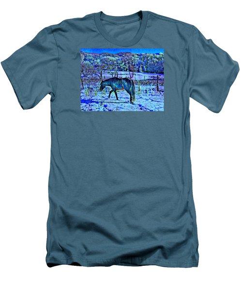 Christmas Roan El Valle IIi Men's T-Shirt (Slim Fit) by Anastasia Savage Ealy