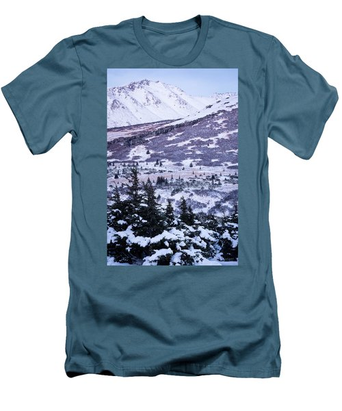 Chugach In Alpenglow Men's T-Shirt (Athletic Fit)