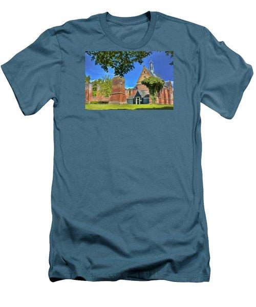 Churchyard Men's T-Shirt (Slim Fit) by Nadia Sanowar