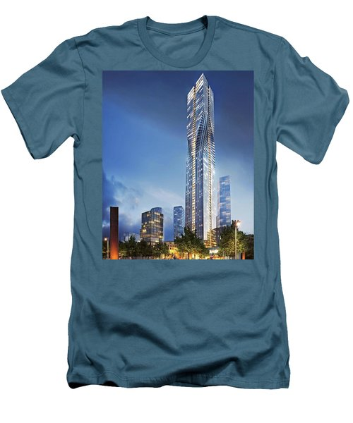 City Heights Men's T-Shirt (Athletic Fit)