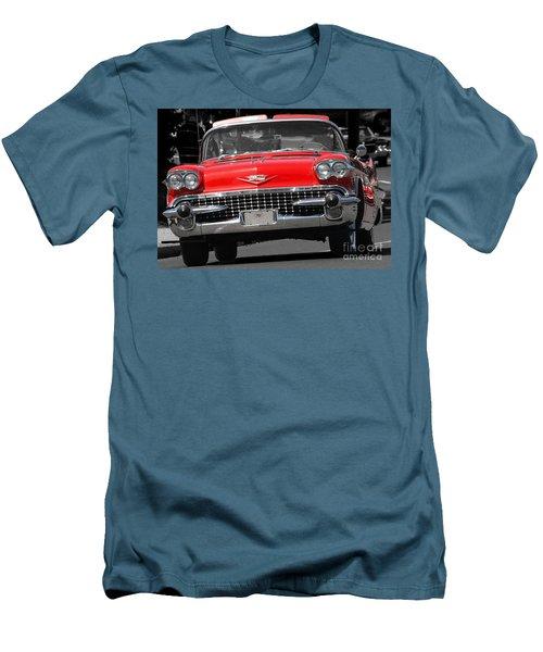 Classic Car Men's T-Shirt (Slim Fit) by Raymond Earley
