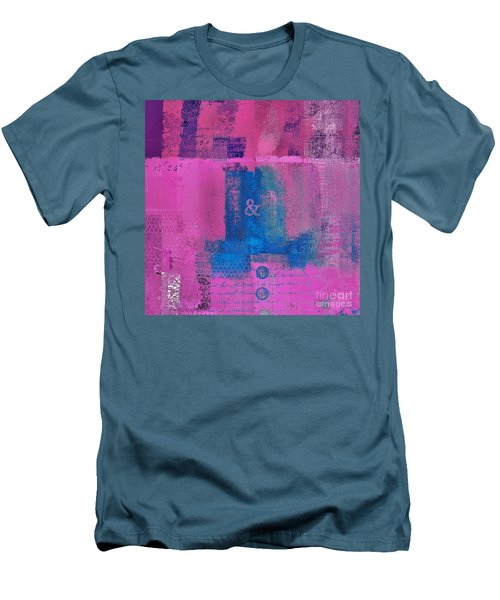 Men's T-Shirt (Slim Fit) featuring the digital art Classico - S0307d by Variance Collections