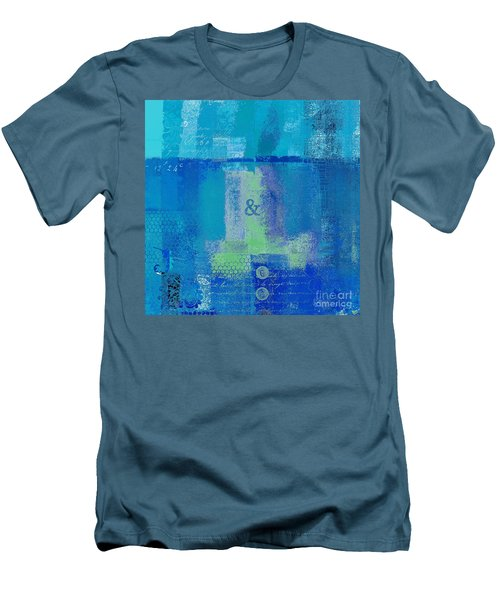 Men's T-Shirt (Slim Fit) featuring the digital art Classico - S03c06 by Variance Collections