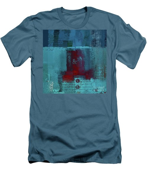 Men's T-Shirt (Slim Fit) featuring the digital art Classico - S03b by Variance Collections