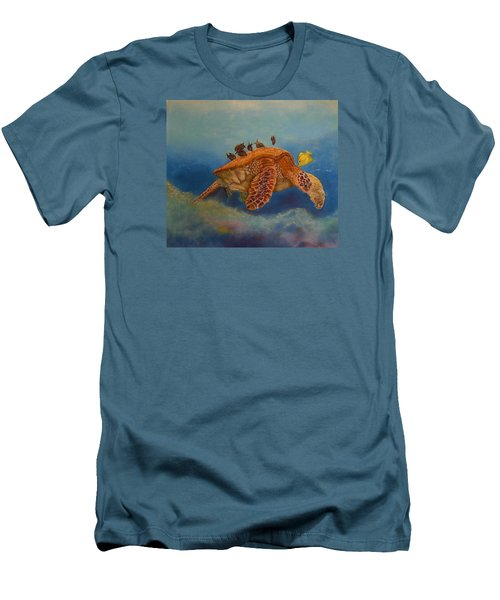 Cleaning Station Men's T-Shirt (Slim Fit)