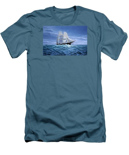 Clear Skies Ahead Men's T-Shirt (Athletic Fit)