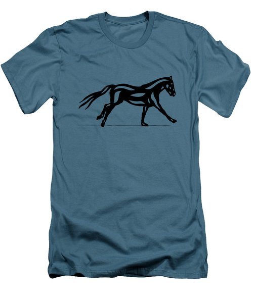 Clementine - Abstract Horse Men's T-Shirt (Athletic Fit)