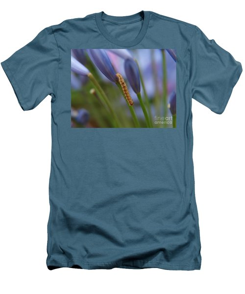 Climbing Caterpillar Men's T-Shirt (Slim Fit)