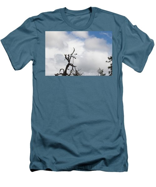 Men's T-Shirt (Slim Fit) featuring the photograph Close Call by Marie Neder