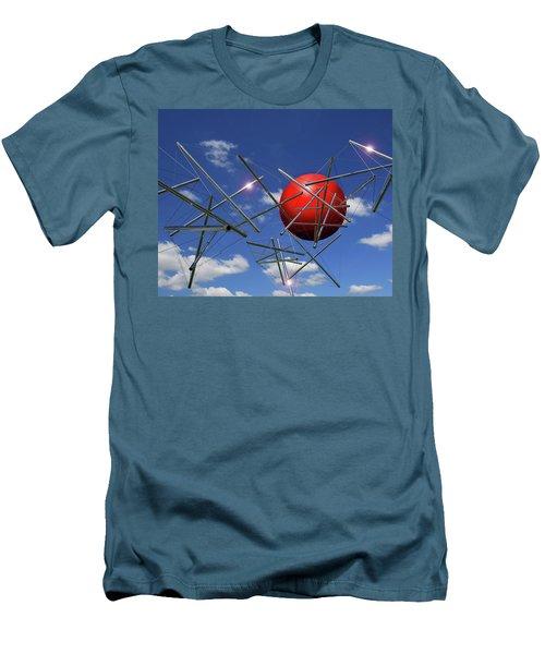 Men's T-Shirt (Slim Fit) featuring the photograph Close Encounters by Christopher McKenzie