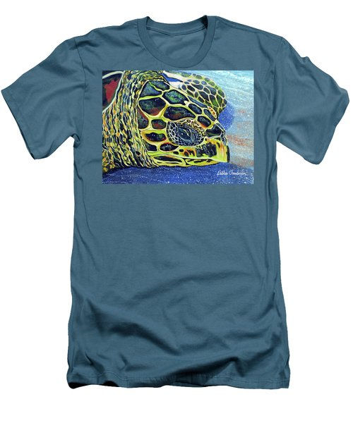 Close Up Of Kohilo Men's T-Shirt (Athletic Fit)
